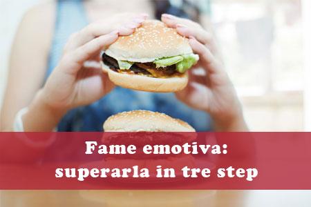 Come superare la fame emotiva