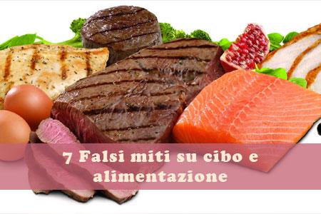 falsi miti alimentari